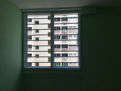 Singapore Window Grille Installation