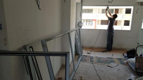 Singapore Aluminium Window Installation